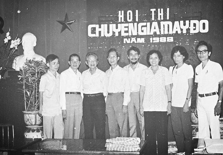 Hội thi chuyên gia may đo 1988